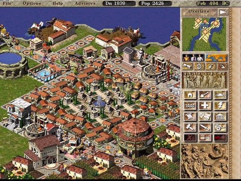 Screenshot af Caesar III