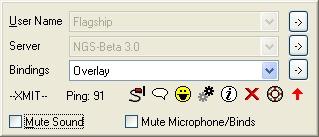 Screenshot af Ventrilo für Mac