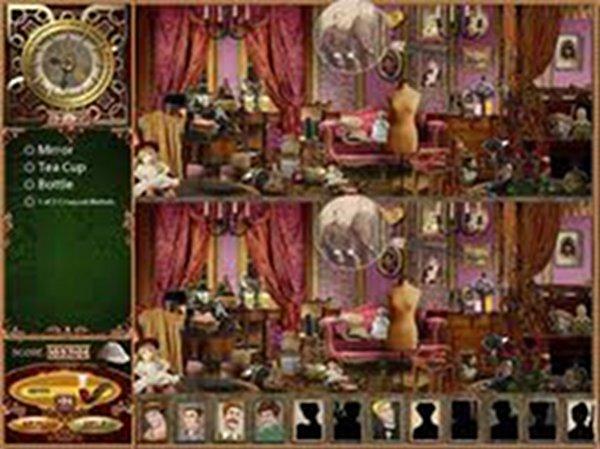 Screenshot af The Lost Cases of Sherlock Holmes