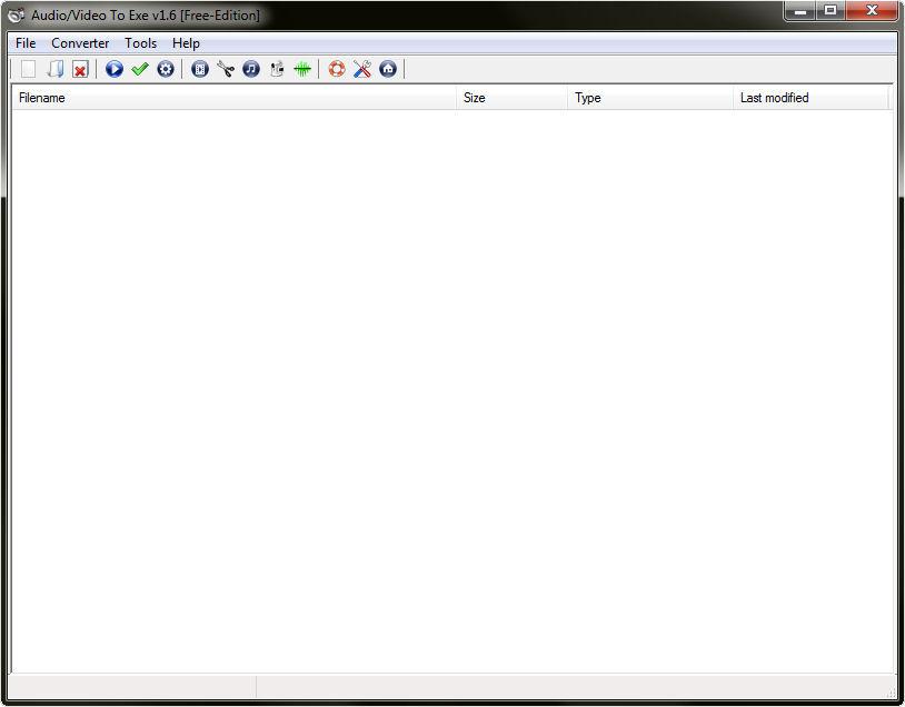 Screenshot af Audio/Video To Exe