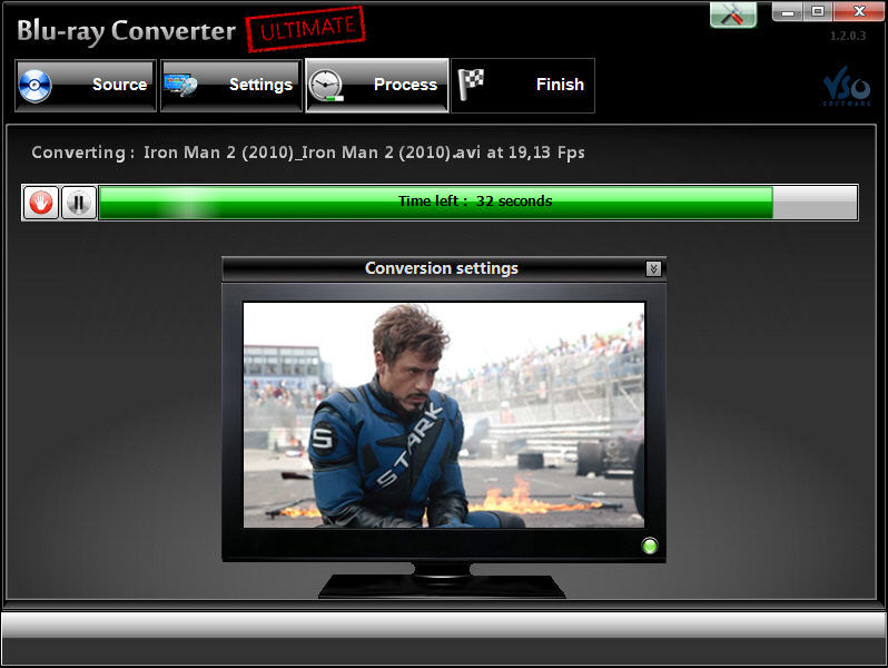 Screenshot af Blu-ray Converter Ultimate