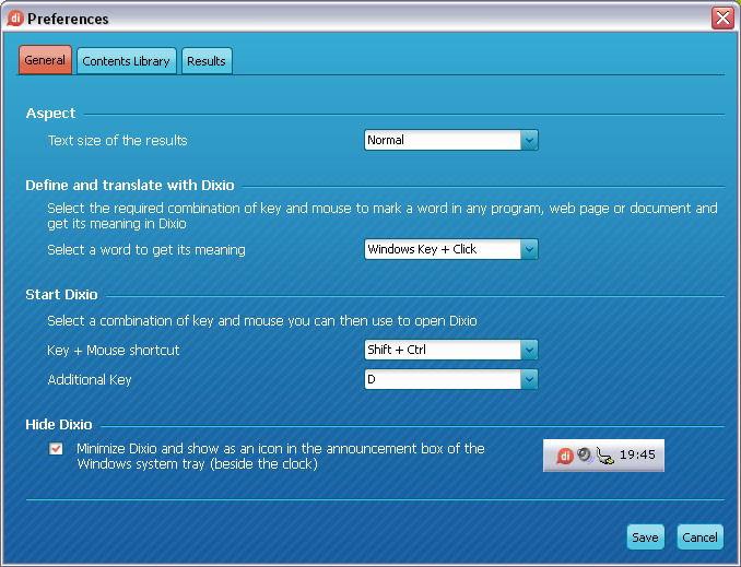 Screenshot af Dixio Desktop til Mac