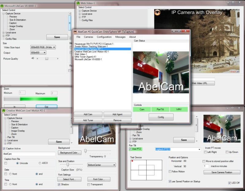 Screenshot af AbelCam