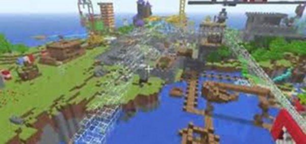 Screenshot von Minecraft für Mac