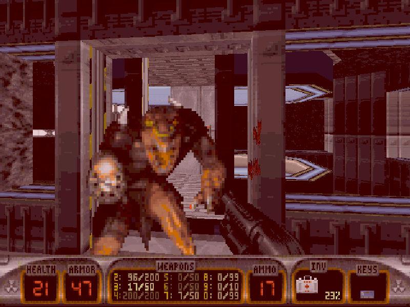Screenshot af Duke Nukem 3D