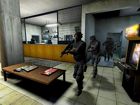 Screenshot von SWAT 4