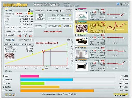 Screenshot af Industryplayer