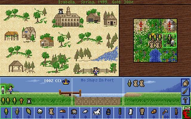Screenshot von Colonization