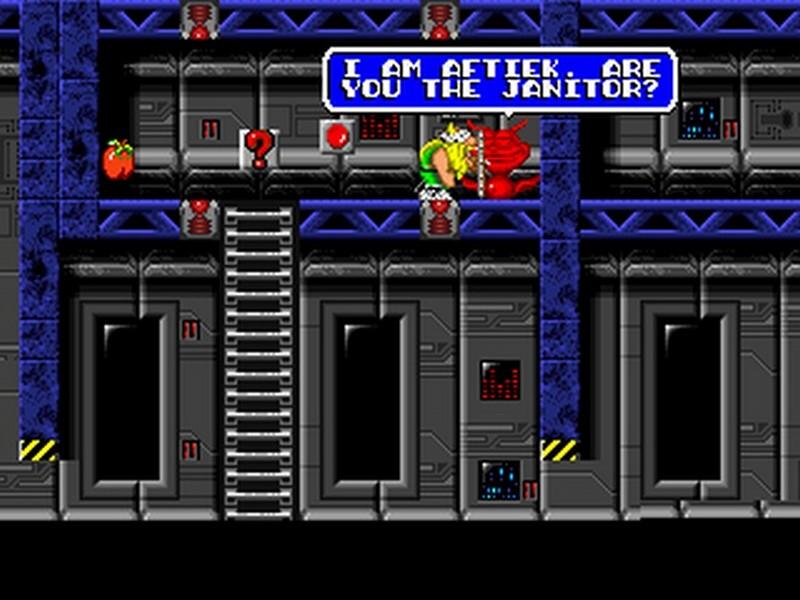 Screenshot af The Lost Vikings