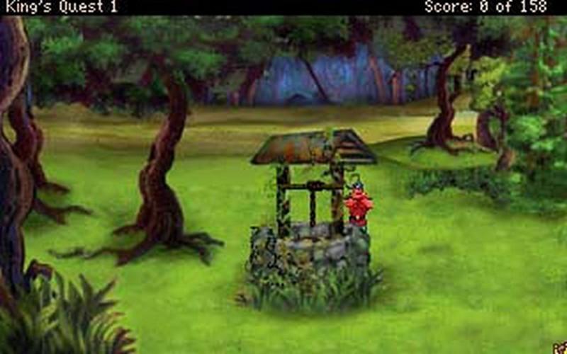 Screenshot af King's Quest
