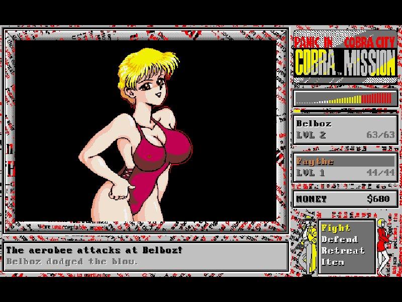 Screenshot af Cobra Mission  - Panic in Cobra City