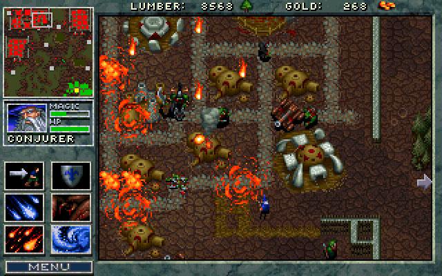 Screenshot af Warcraft - Orcs & Humans