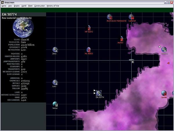 Screenshot af Anacreon