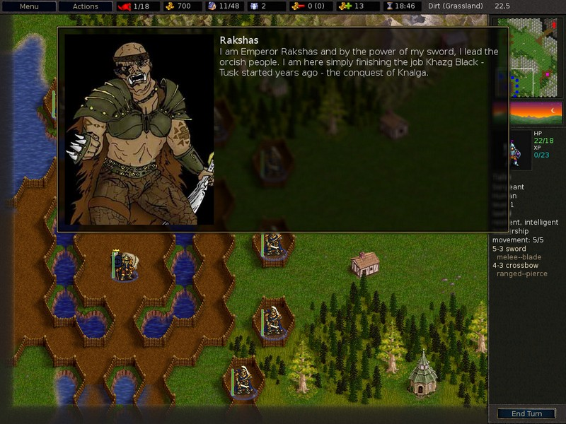 Screenshot af Battle for Wesnoth