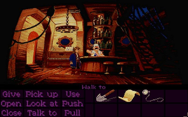 Screenshot von Monkey Island 2 - LeChuck's Revenge