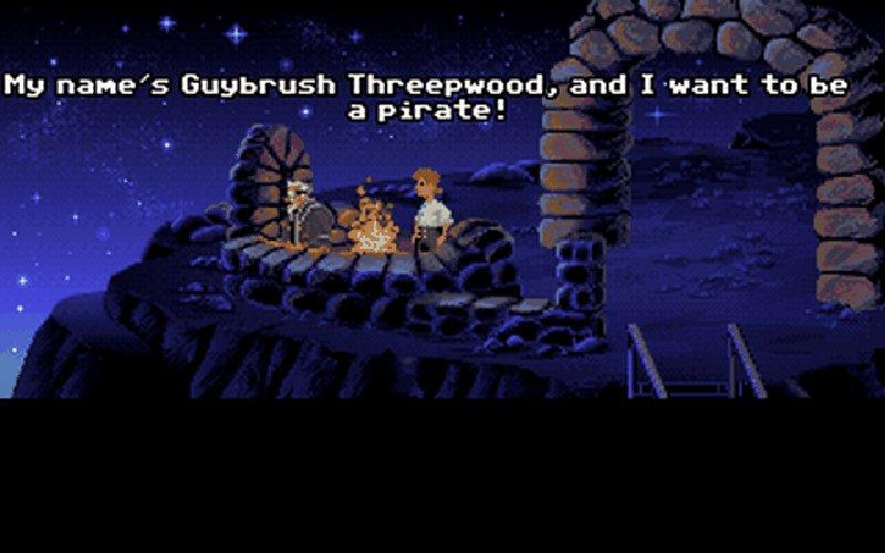 Screenshot von Monkey Island 1: The Secret of Monkey Island