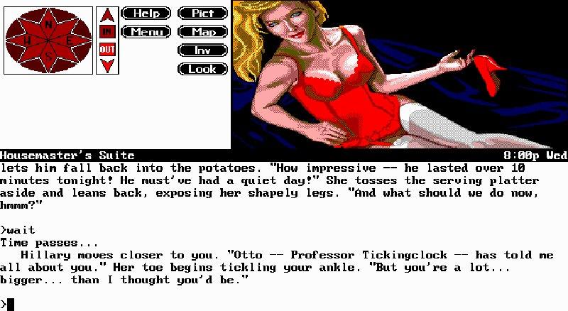 Screenshot af Spellcasting 101: Sorcerers get all the Girls